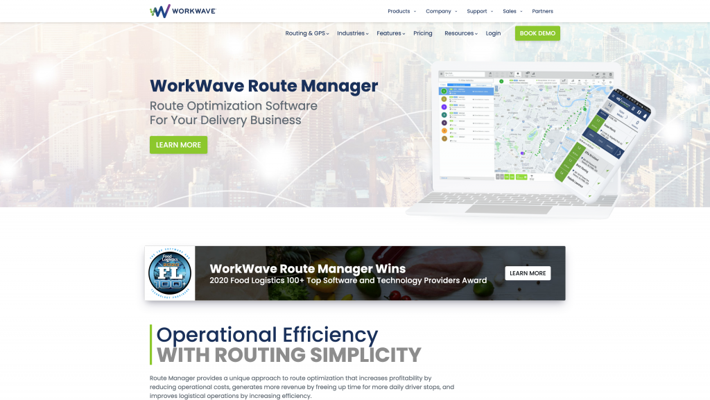 Delivery Route Planning App: WorkWave Route Manger