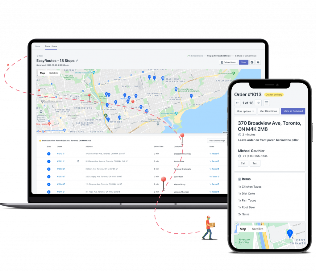 EasyRoutes Local Delivery Routes Planner