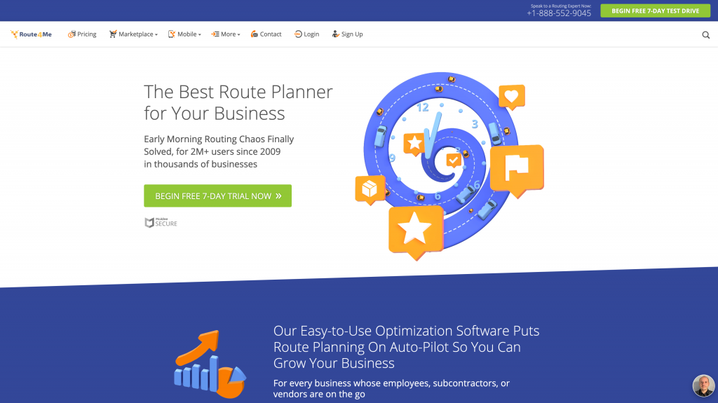 Delivery Route Planning App: Route4Me